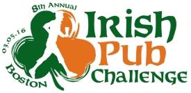 Boston Irish Pub Challenge Bar Crawl 2016